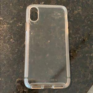 Tech 21 iPhone X/XS clear case
